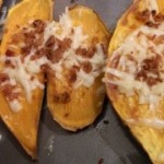Loaded Sweet Potato Skins