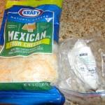 Pork Carnita and Goat Cheese Quesadillas