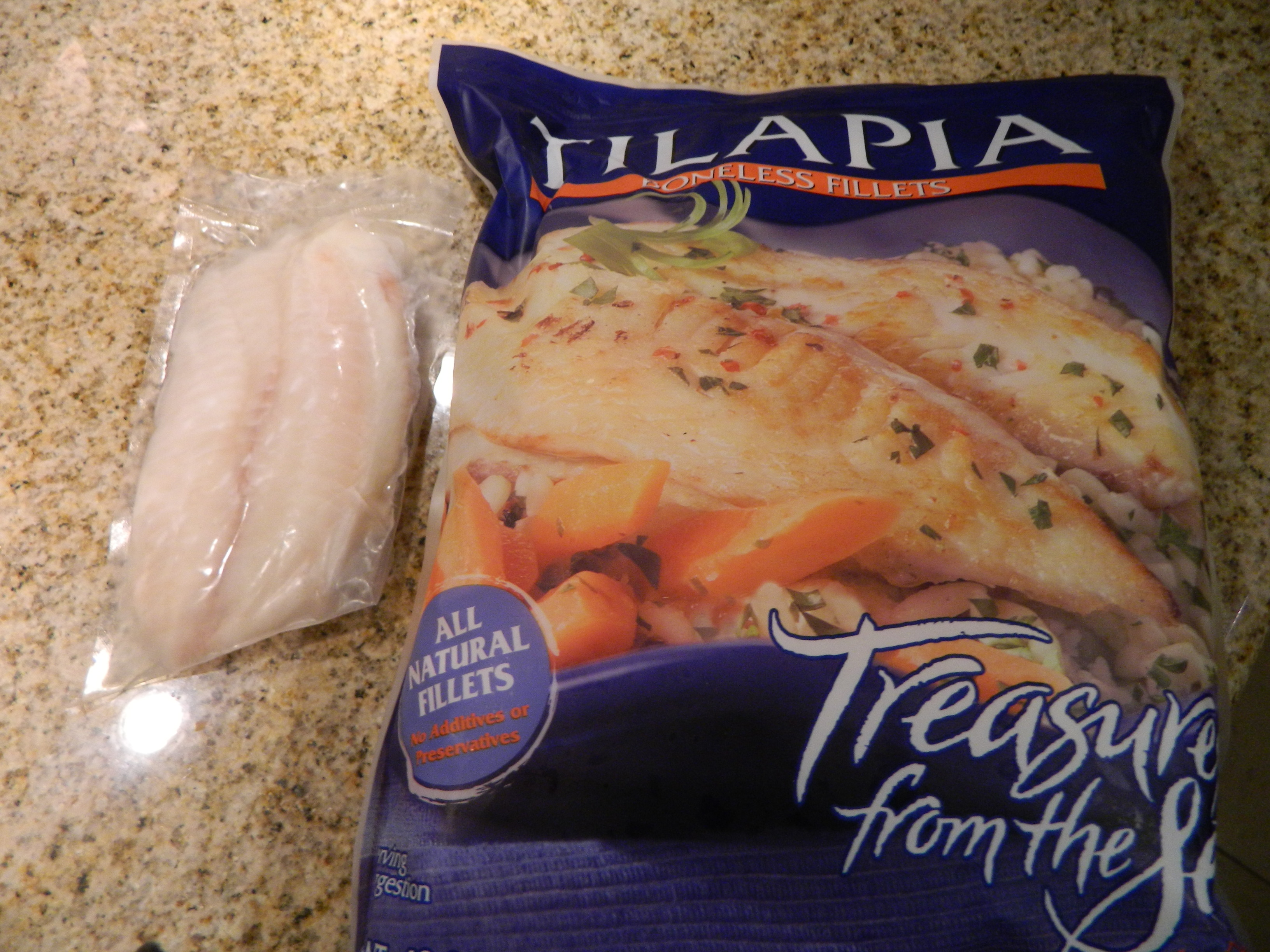 Budget tilapia dinner eat drink and save money for Does frozen fish go bad