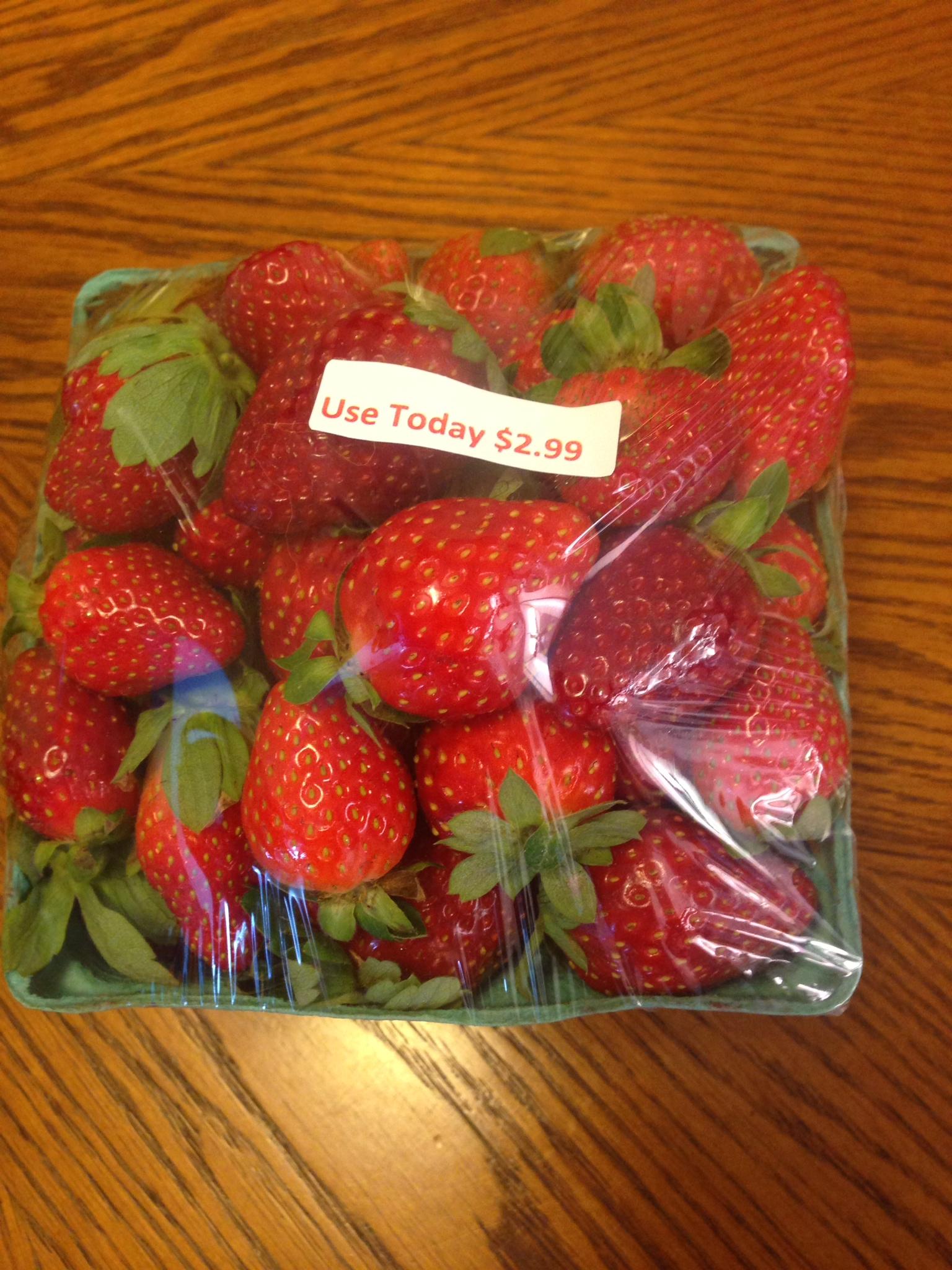 cheap strawberries