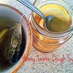 Make your own honey lemon cough syrup