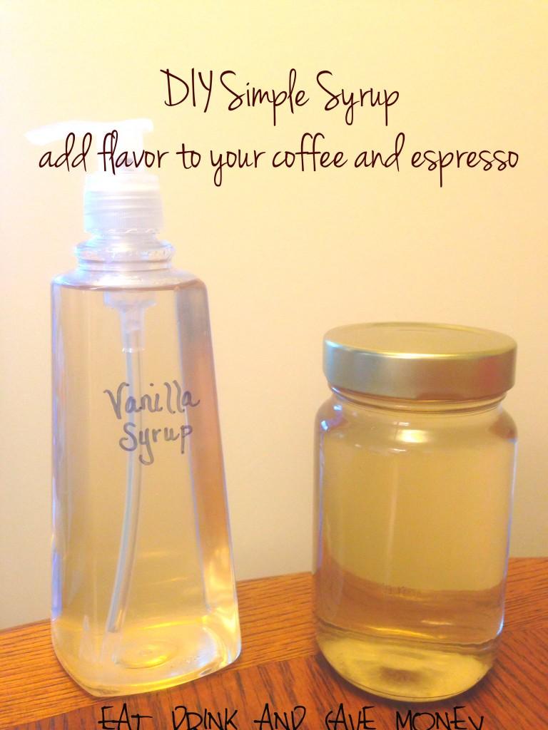 DIY Simple Syrup