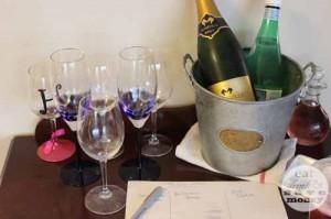 Sparkling wine champagne taste test party