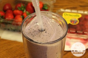 breakfast back to school smoothie