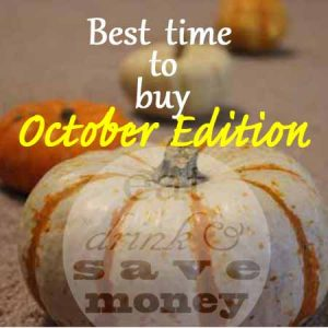 Best time to buy- October