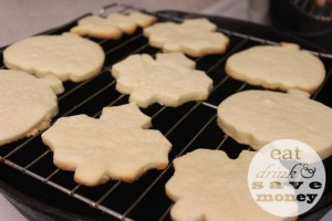 Sugar cookies made without a mixer