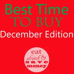 Best time to buy- december