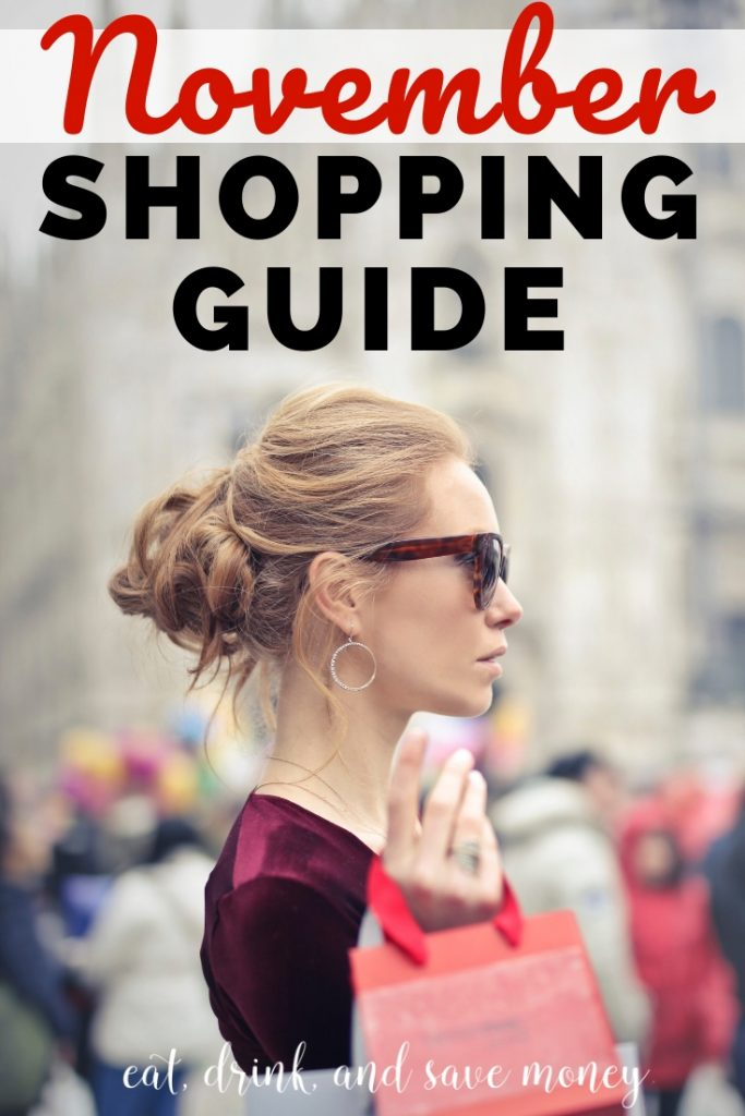 November shopping guide | What to buy in November | Best time to buy November