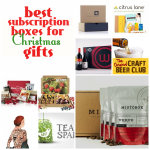 Best Subscription Boxes for Christmas Gifts + MistoBox deal