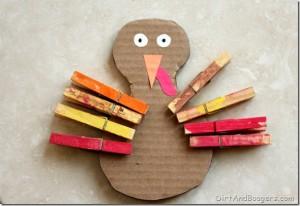 Thanksgiving sensory craft