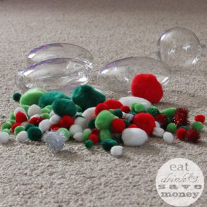 DIY Christmas ornaments for toddlers