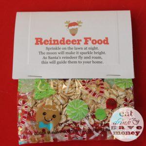 Reindeer food in bag