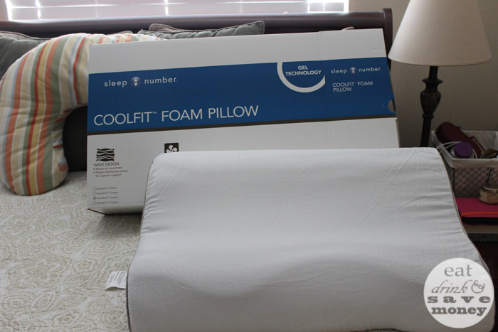 Sleep Number free pillow