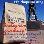 I love coffee + Fairhope Roasting Company Giveaway