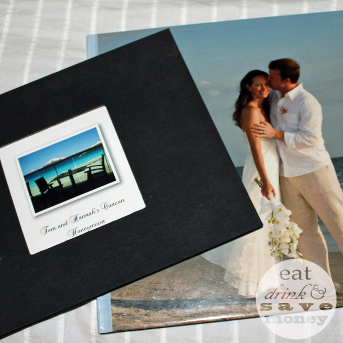 Shutterfly books honeymoon and wedding