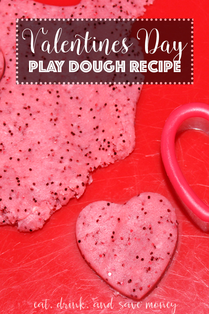valentine's day play dough recipe - eat, drink, and save money, Ideas