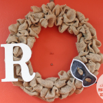 Crafting Bucket List:  Burlap Wreath