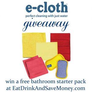 e-cloth giveaway