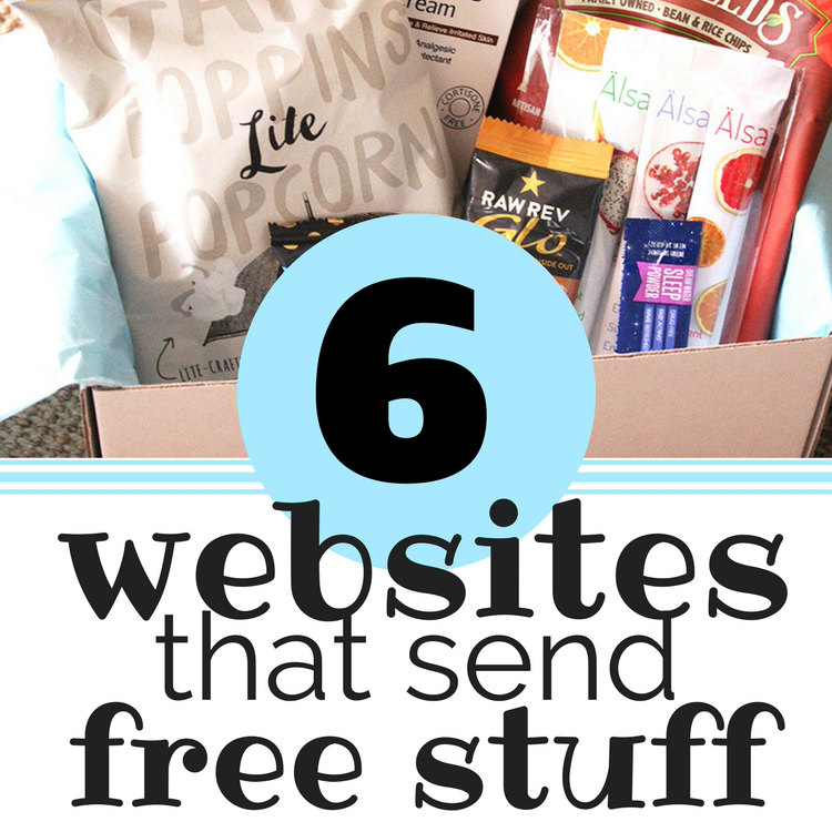 6 Website that send free stuff square