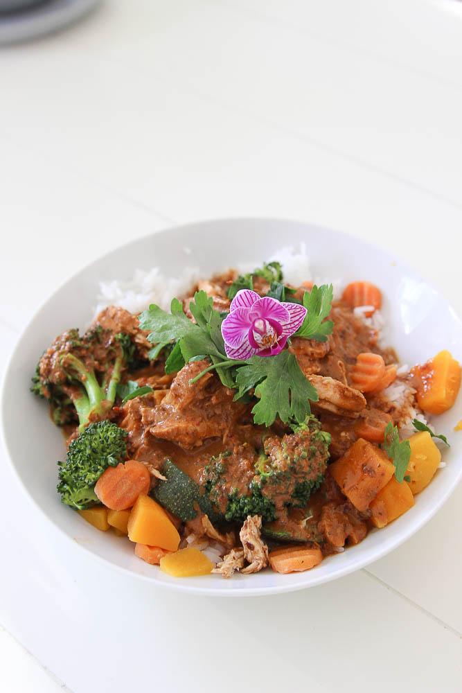 Thai mex fusion curry Nitallys copycat recipe