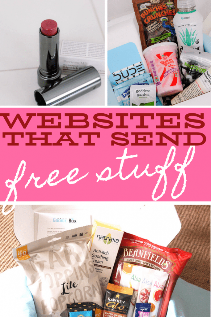 websites that send free stuff