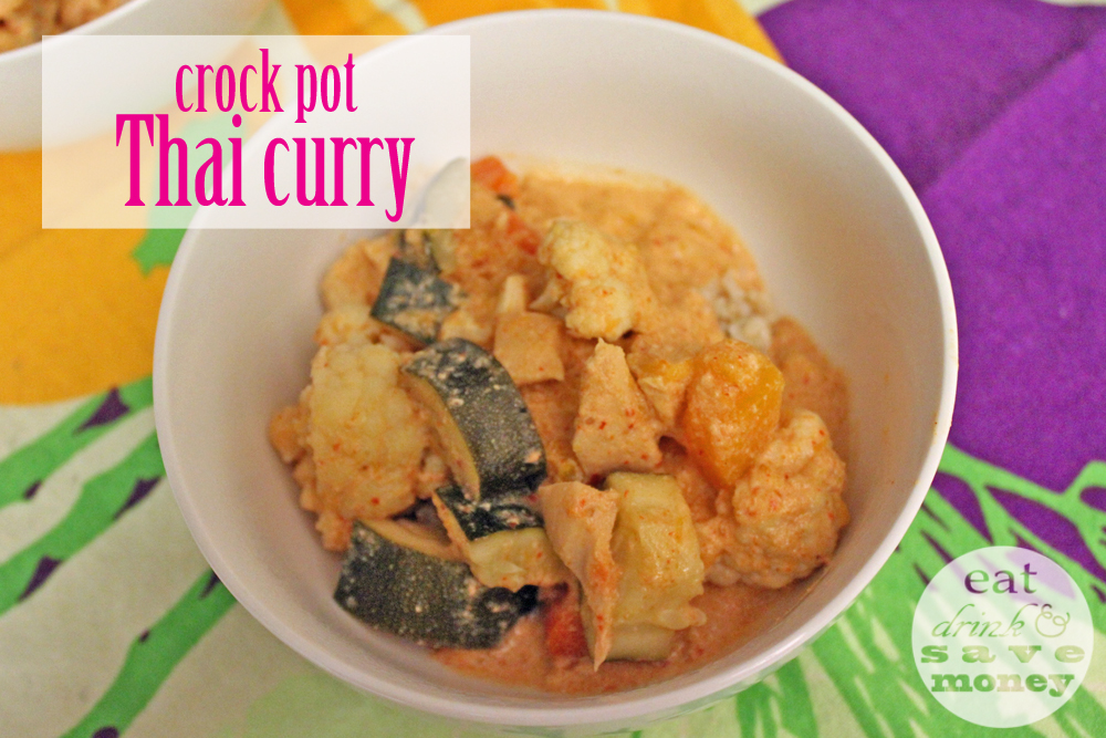 Crock pot Thai curry