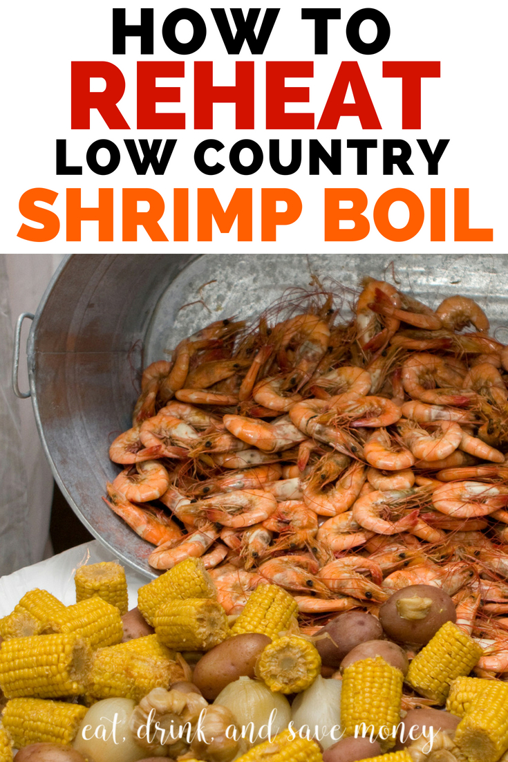 How to reheat low country shrimp boil. How to reheat shrimp. What to do with leftover shrimp. #shrimp #shrimpboil #seafood