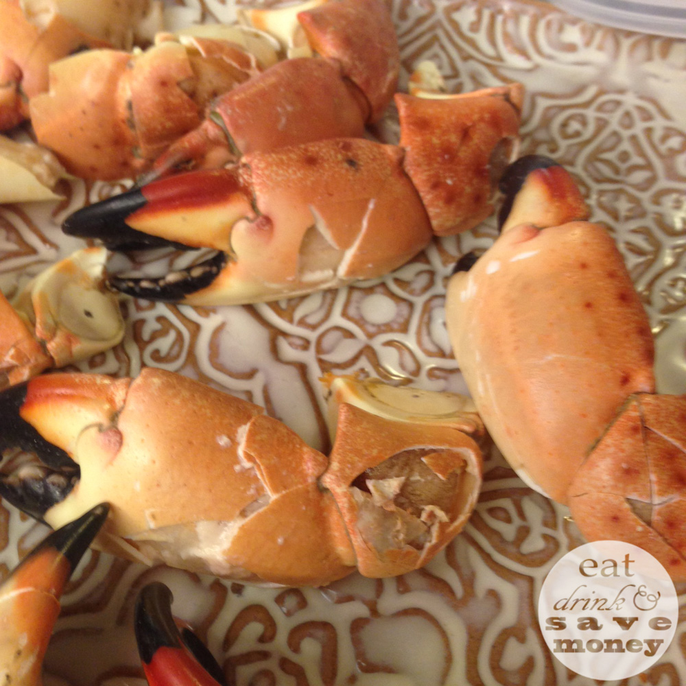 Stone crab claws