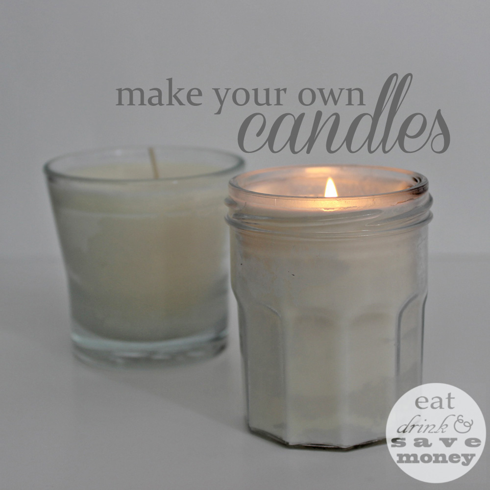 make your own DIY candles