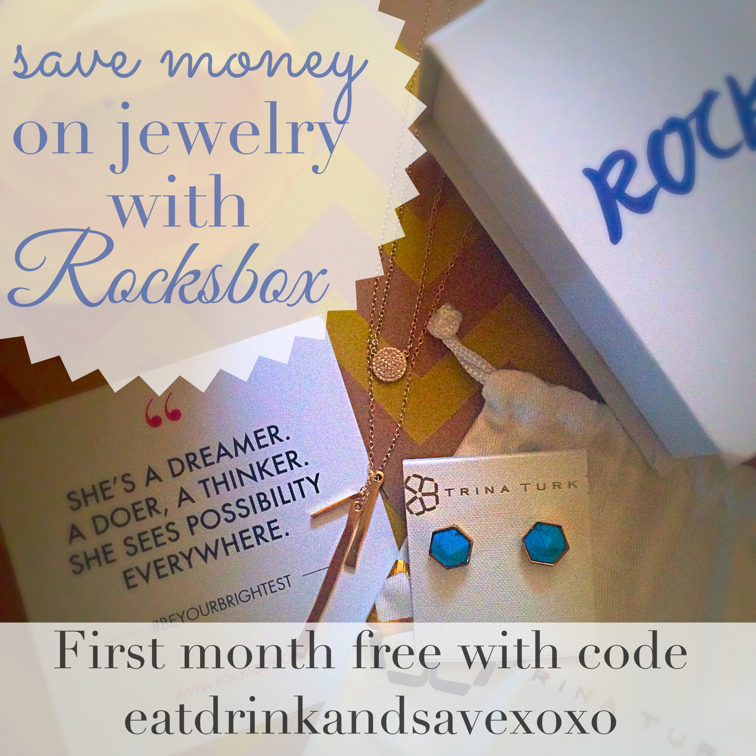 Save Money with Rocksbox coupon code for free month