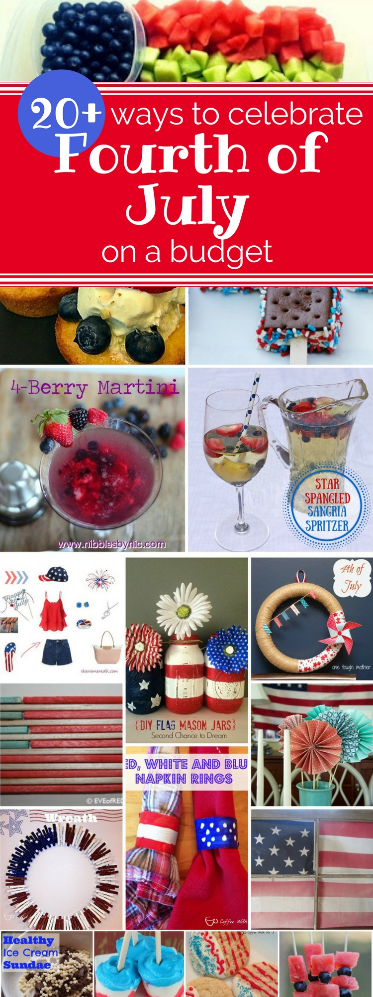 20 + ways to celebrate 4th of july on a budget Pinterest
