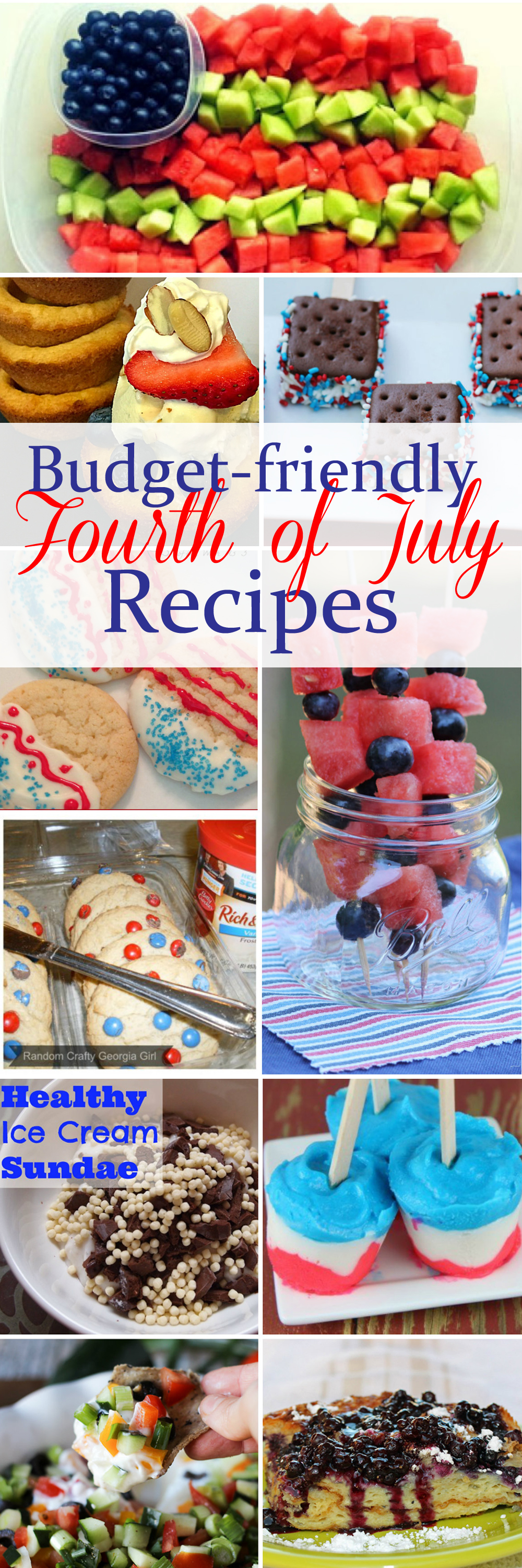 Budget Friendly Fourth of July Recipes