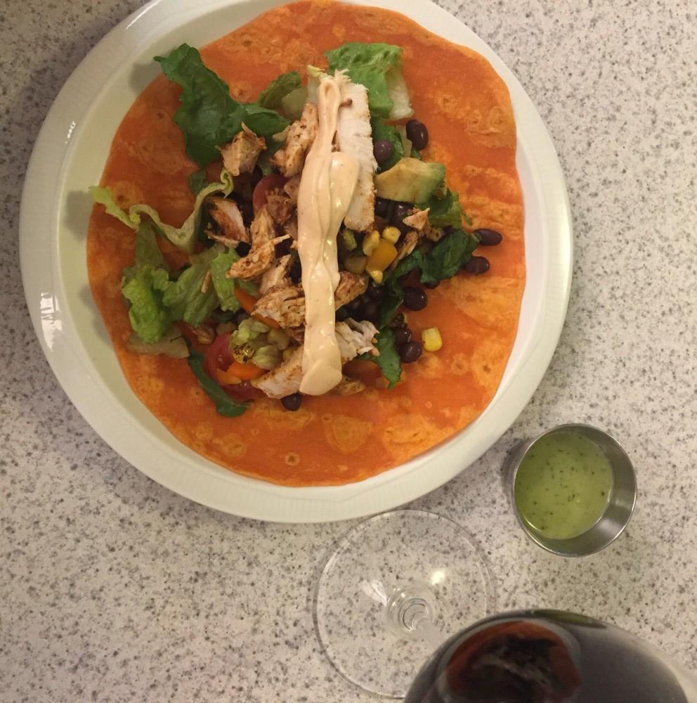 FWF Southwestern salad leftovers