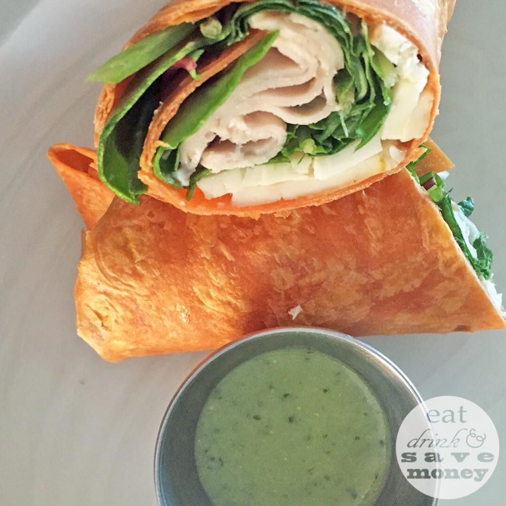 fwf meal prep southwestern turkey wrap