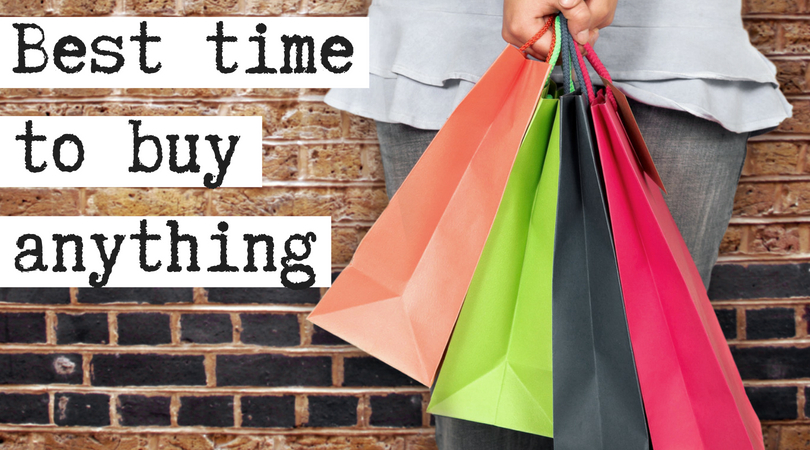 Best time to buy anything