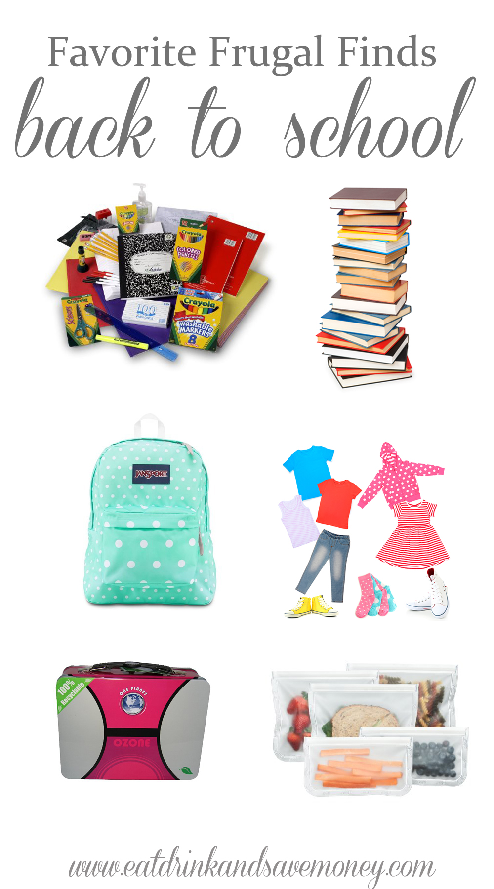 Favorite Frugal Finds Back to School | Find the best ways to get back to school deals.  School starts soon!  Don't wait to the last minute to get all your school supplies!