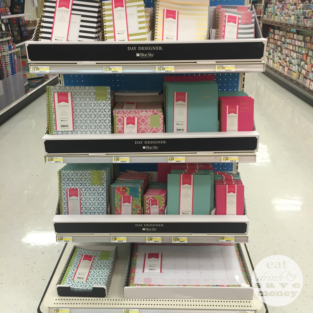 Awesome selection of Day Designer planners at Target