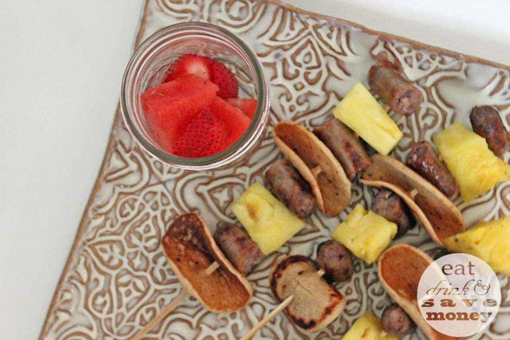 Back to school breakfast kabobs are easy to make