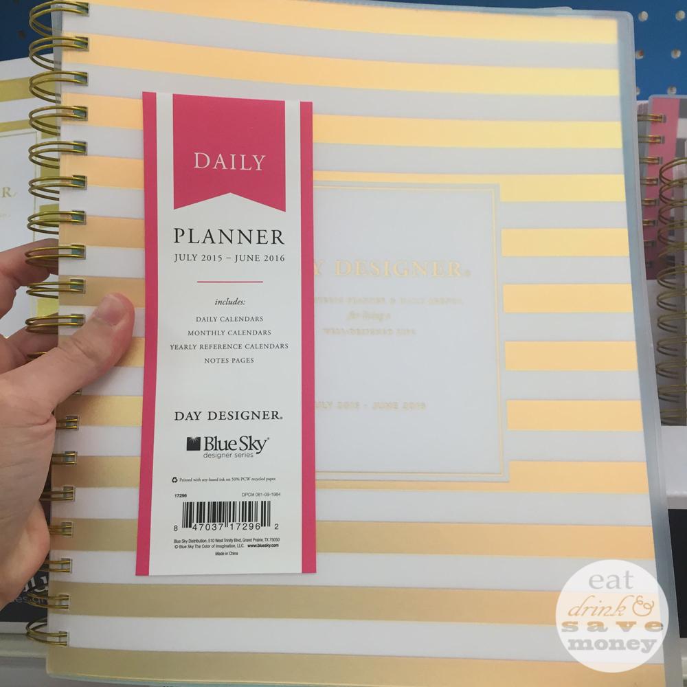 Day Designer planner from target