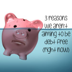 3 reasons we aren't aiming to be debt free (right now)