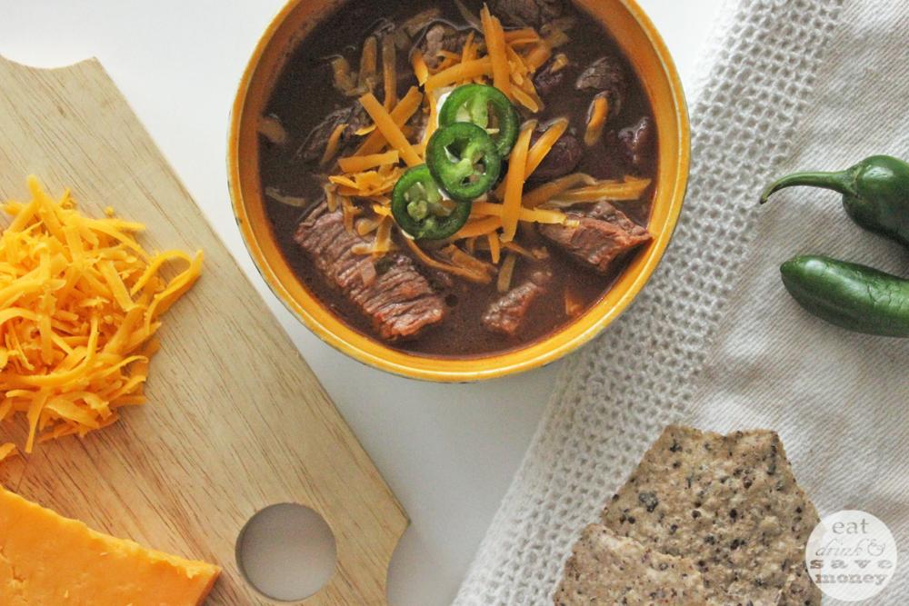 Choco taco steak chili