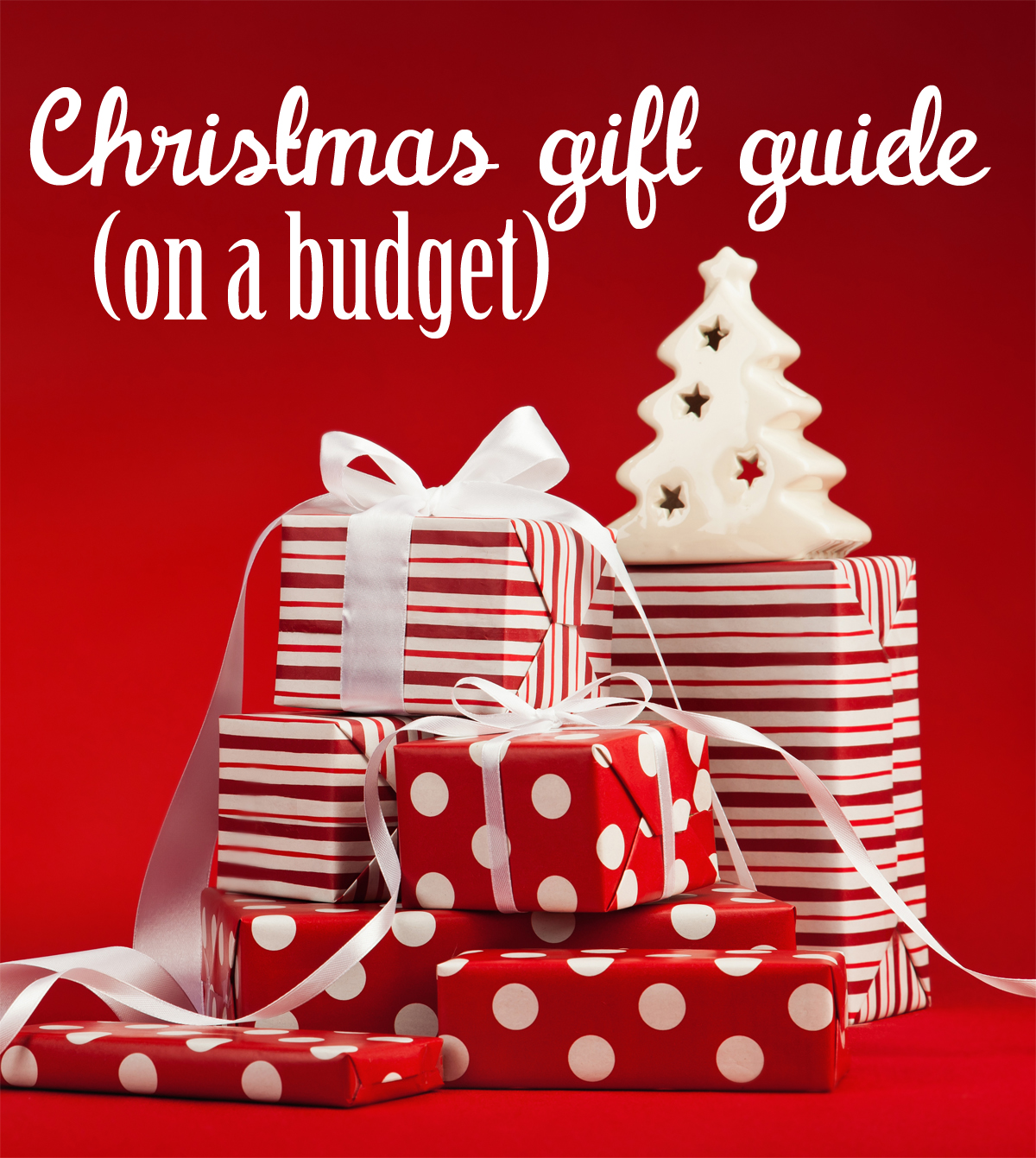 chirstmas gift guide on a budget