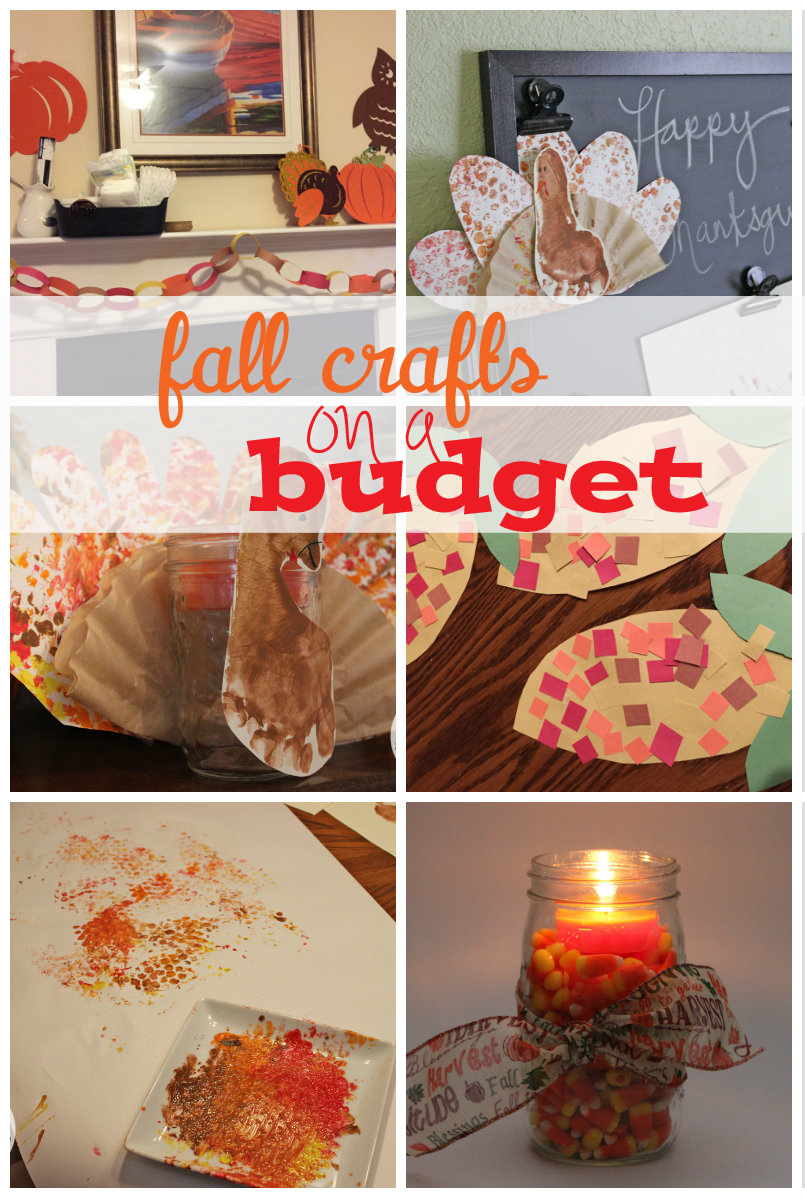 Fall crafts on a budget