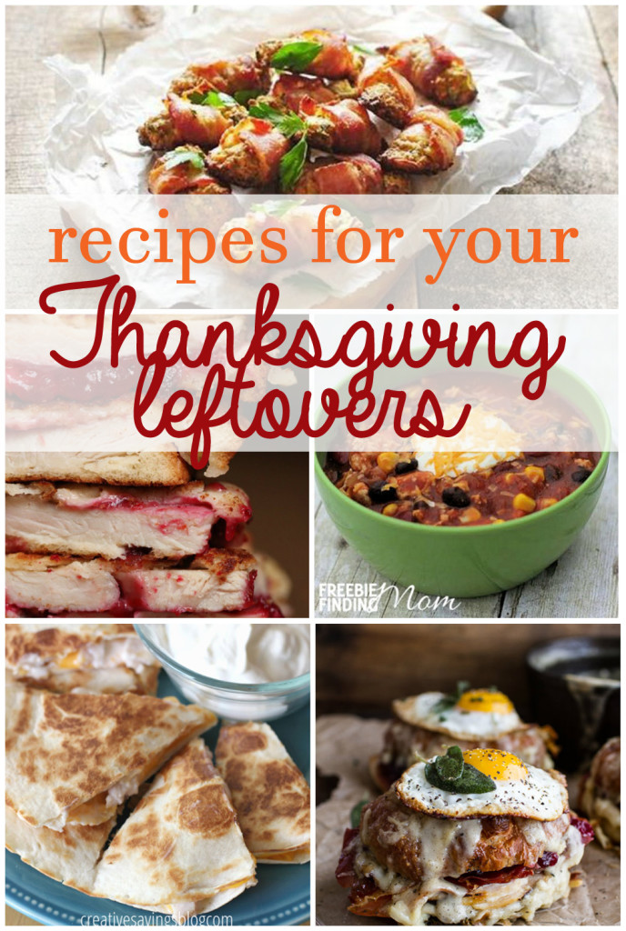 Recipes for your Thanksgiving Leftovers. Don't let your Thanksgiving dinner go to waste after one meal!