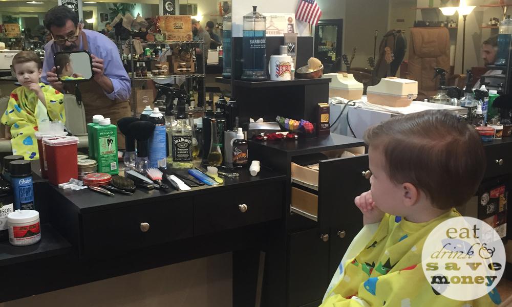 Roberts haircut at 5th avenue barber