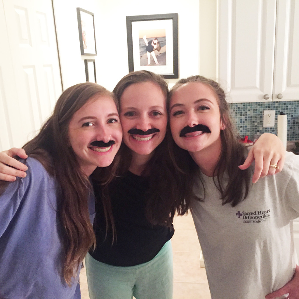Christmas 2015 mustache