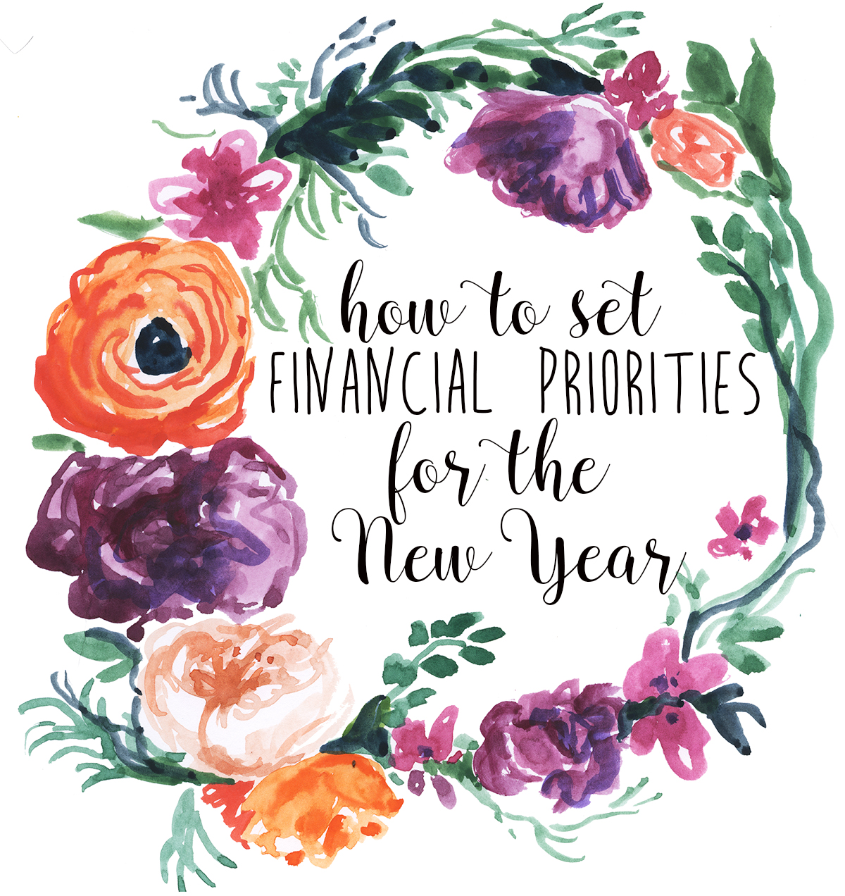 How to set financial priorities for the new year