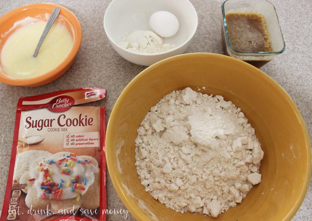Pecan pie sugar cookie recipe with Betty Crocker