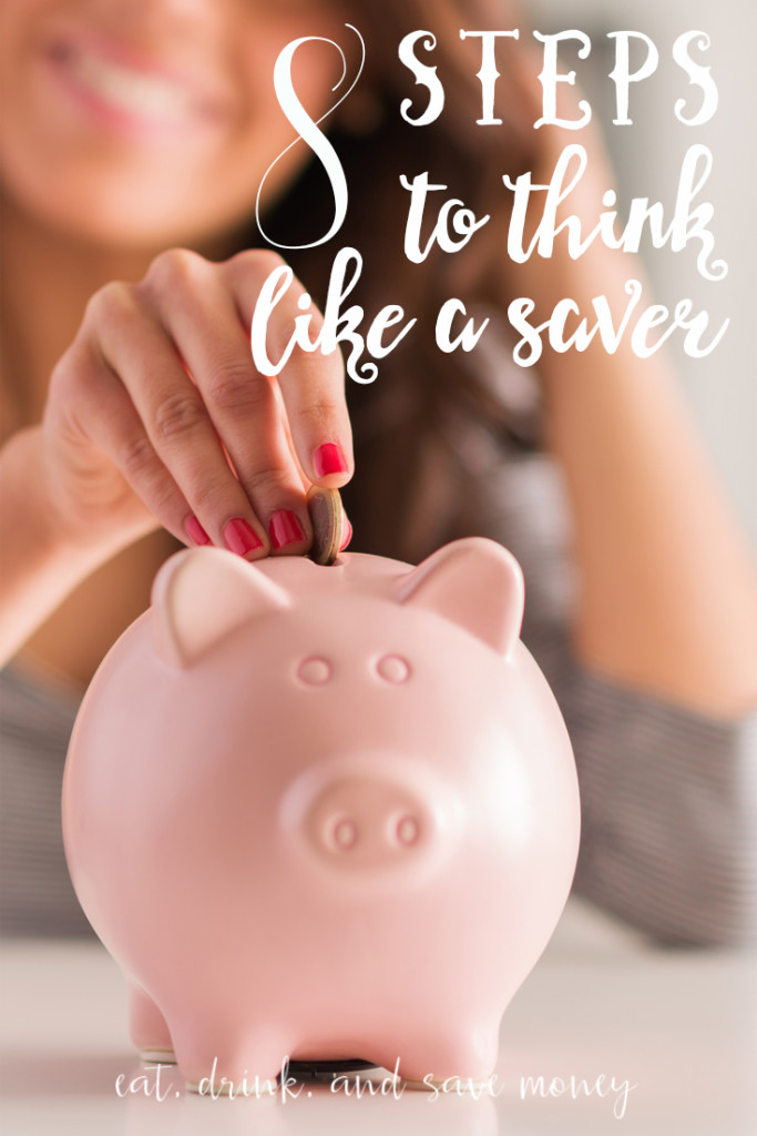 Ready to retrain your brain to think like a saver? Maybe you need to save money right now. Follow these 8 steps to think like a saver. It's not hard to stop your overspending, and save more money for the future. It's so much more than starting a budget.