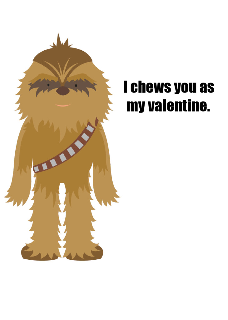 Robert's Star Wars Valentines